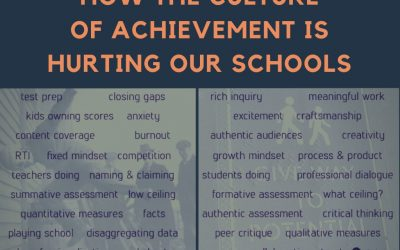 How The Culture Of Achievement Is Hurting Our Schools