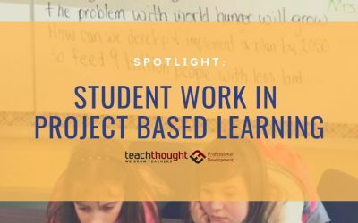 Spotlight: Student Work In Project Based Learning