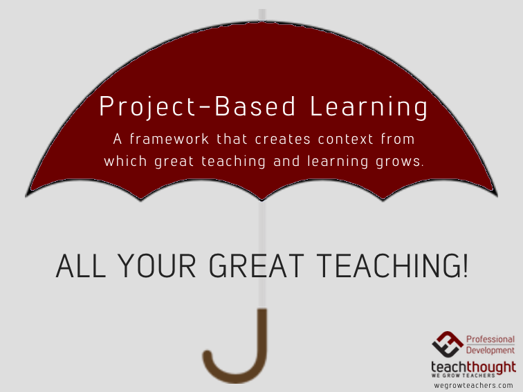 pbl-as-umbrella-framework
