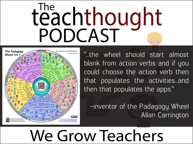 The TeachThought Podcast Ep. 28 Integrating #EdTech With The Padagogy Wheel