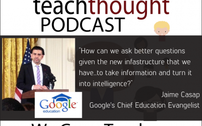The TeachThought Podcast Ep. 47 The Future Of Learning With Google For Education
