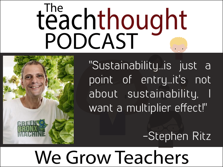 The TeachThought Podcast Ep. 43 Let's Grow Students With PBL And Urban Agriculture
