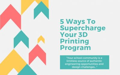 5 Ways To Supercharge Your 3D Printing Program