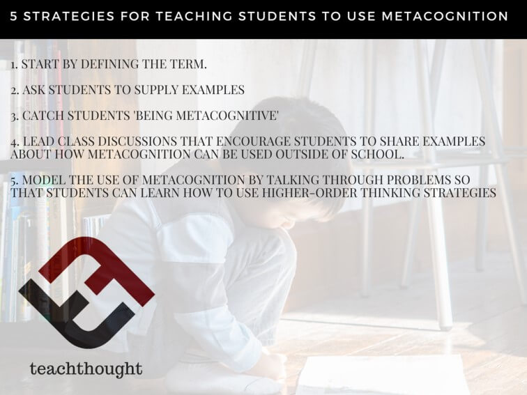 5 Strategies For Teaching Students To Use Metacognition