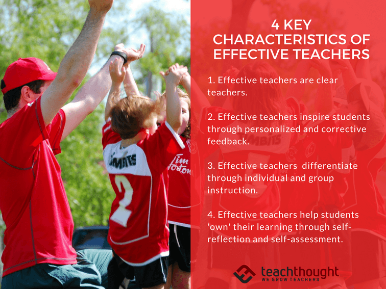 4 Key Characteristics Of Effective Teachers