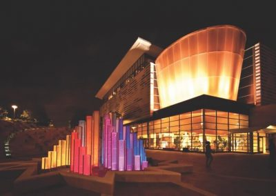 Ali Center at night