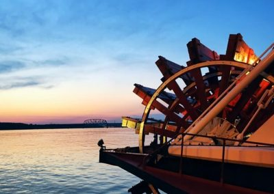 Belle of Louisville Paddlewheel