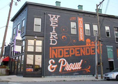Weird Independent & Proud
