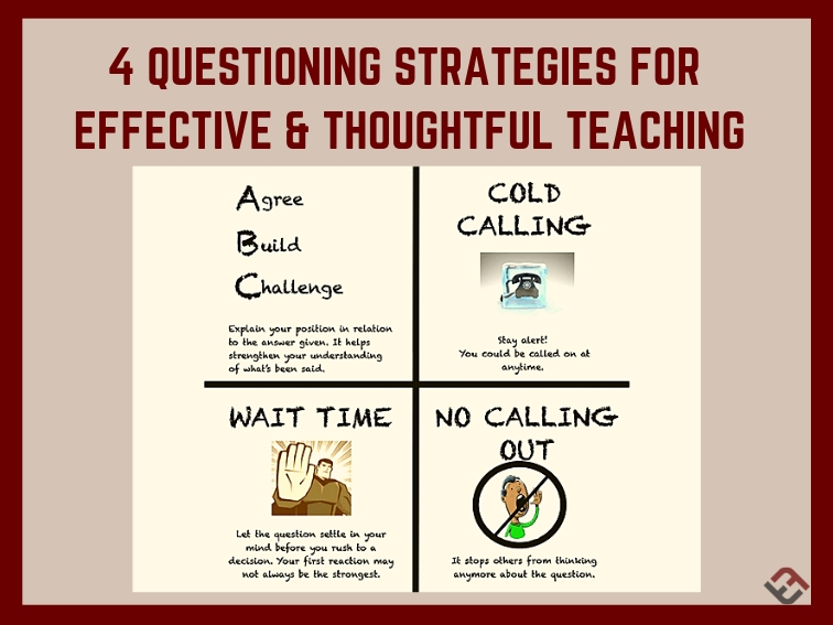 4 Questioning Strategies For Effective & Thoughtful Teaching