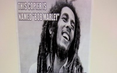 Why Your School's Copy Machine Should Be Named Bob Marley