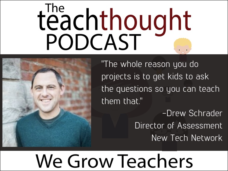 The TeachThought Podcast Ep. 70 Assessment and Personalized Learning In Project-Based Learning