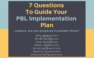 7 Questions To Guide Your PBL Implementation Plan