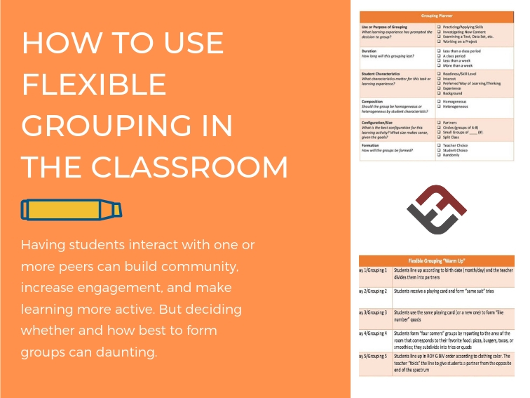 How To Use Flexible Grouping In The Classroom