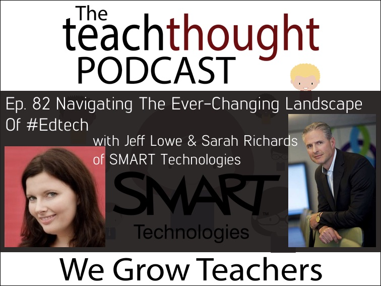 The TeachThought Podcast Ep. 82 Navigating The Ever-Changing Landscape Of #Edtech