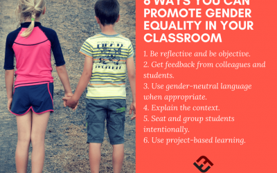 6 Ways You Can Promote Gender Equality In Your Classroom