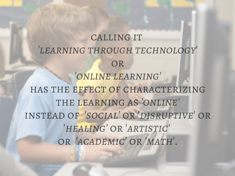 Stop Defining Learning By The Technology Used To Make It Happen