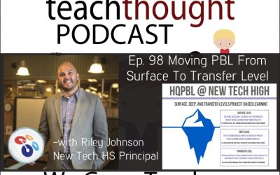 The TeachThought Podcast Ep. 98 Moving PBL From Surface To Transfer Level