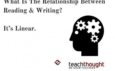 What Is The Relationship Between Reading And Writing? It's Linear