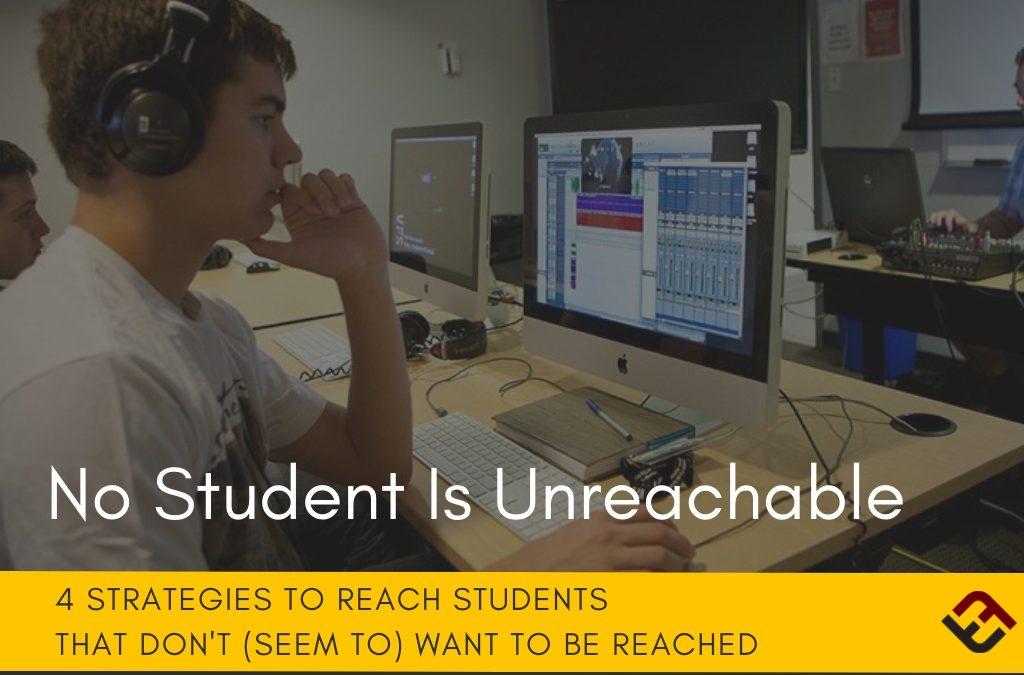 No Student Is Unreachable