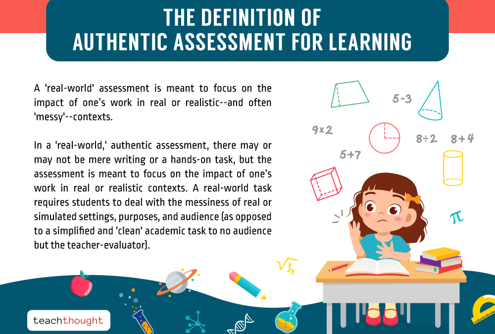 The Definition Of Authentic Assessment For Learning