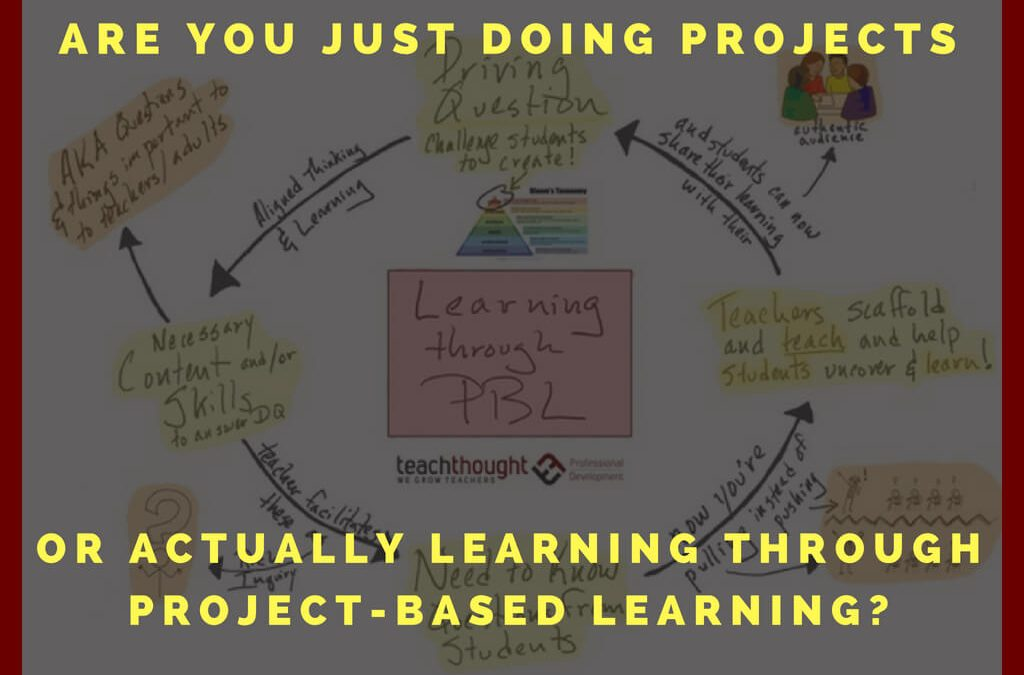 Are You Just Doing Projects Or Actually Learning Through Project-Based Learning?