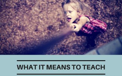 What It Means To Teach