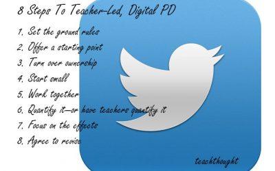 8 Steps To Teacher-Led, Digital PD