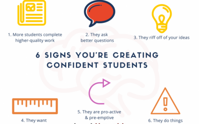 6 Signs You're Creating Confident Students