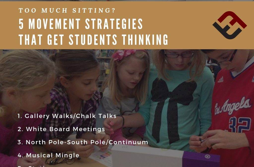 Too Much Sitting? 5 Movement Strategies That Get Students Thinking