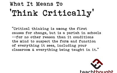 What Does 'Critical Thinking' Mean?