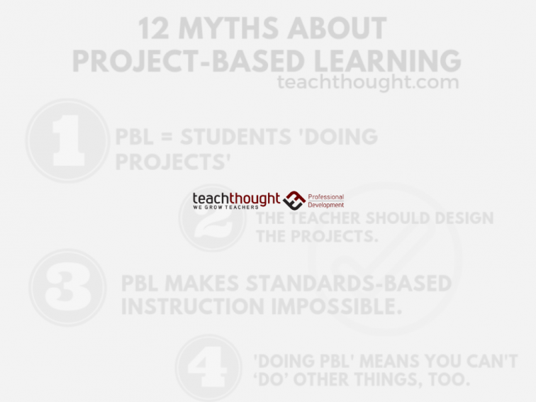 12 Myths About Project-Based Learning - TeachThought PD