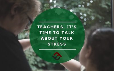 Teachers, It's Time To Talk About Your Stress