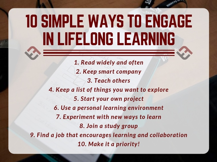 10 Simple Ways To Engage In Lifelong Learning
