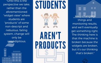 Students Aren't Products