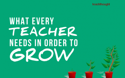 What Every Teacher Needs In Order To Grow