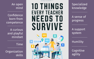 10 Things Every Teacher Needs To Survive