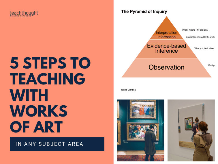 5 Tips For Teaching With Art In Any Subject Area