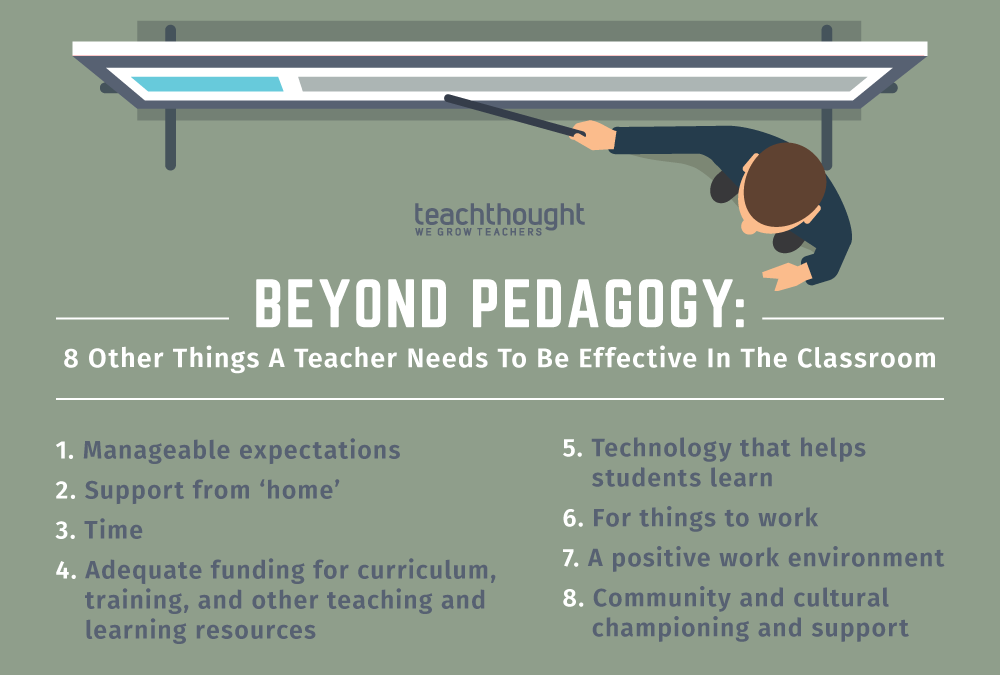 Beyond Pedagogy: 8 Other Things A Teacher Needs To Be Effective In The Classroom
