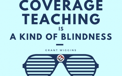 Coverage Teaching Is A Kind Of Blindness