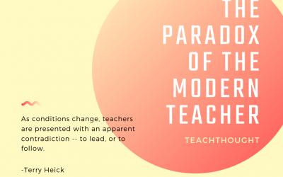 The Paradox Of The Modern Teacher