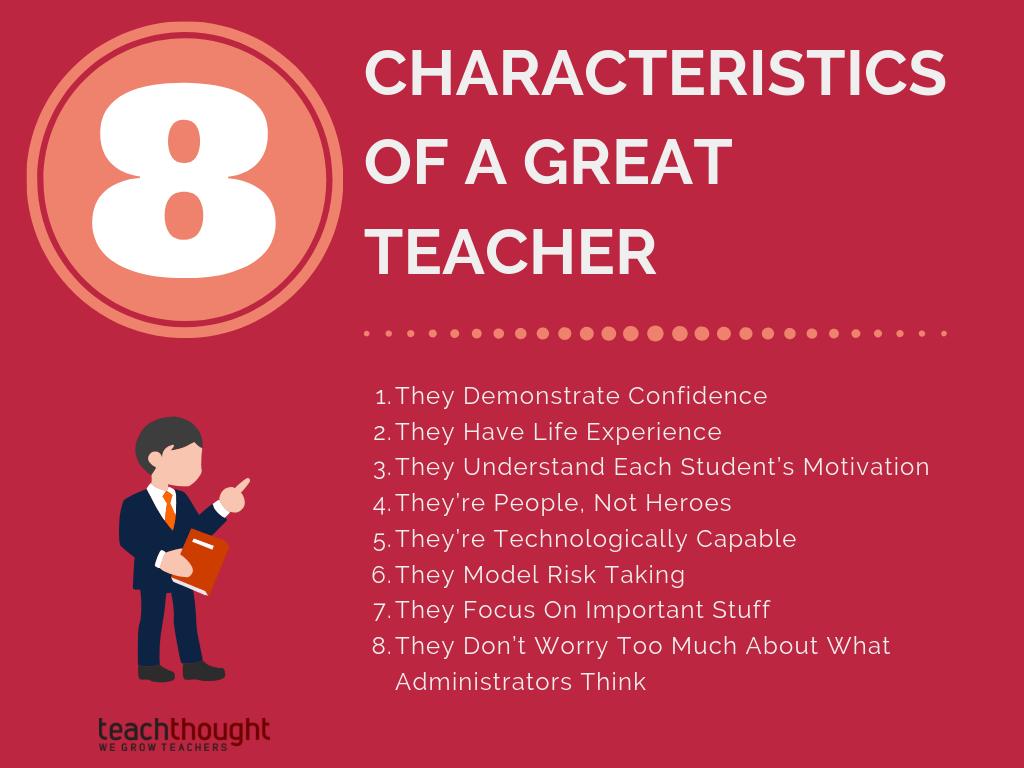 8 Characteristics Of A Great Teacher | TeachThought PD