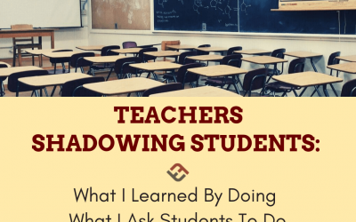 What I Learned By Doing What I Ask Students To Do