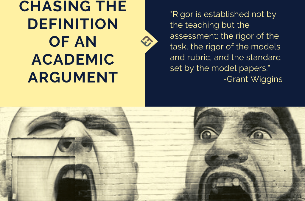 Chasing The Definition Of An Academic Argument
