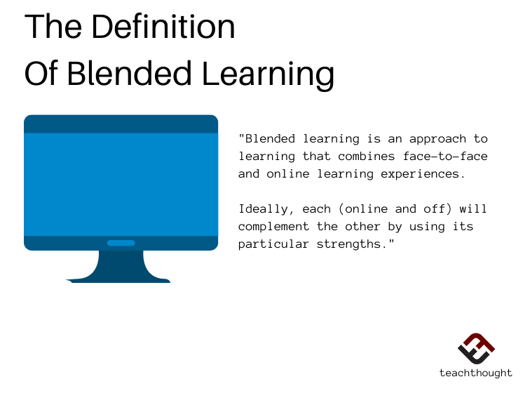 The Definition Of Blended Learning