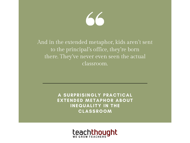 A Surprisingly Practical Extended Metaphor About Inequality In The Classroom