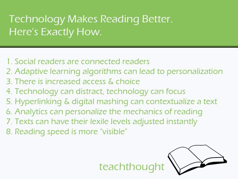 Exactly How Technology Can Make Reading Better