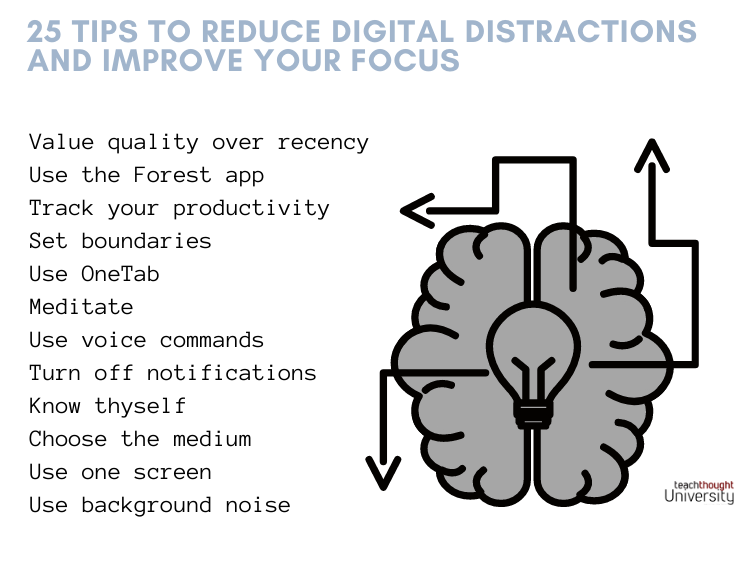 25 Tips To Reduce Digital Distractions And Improve Your Focus