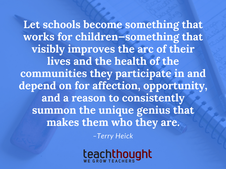 The World Is Changing; Let Schools Change, Too