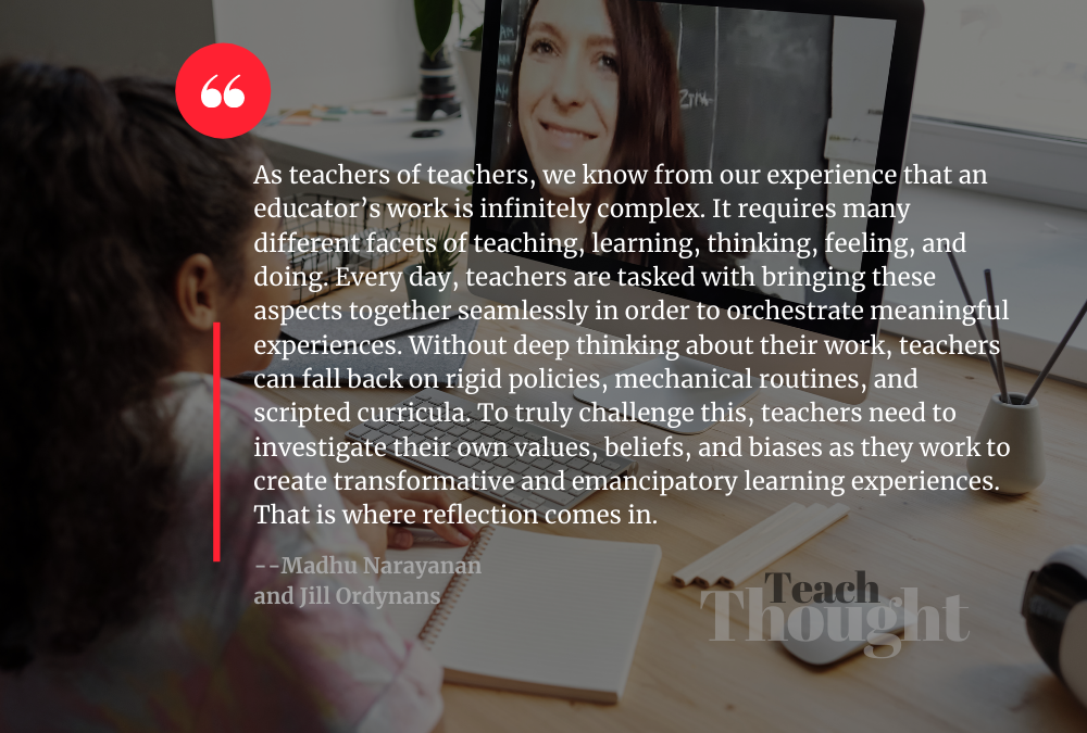 Why Reflection Is Important In Teaching